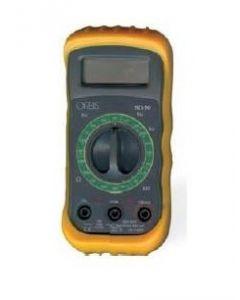 TESTER MULTIMETRO DIGITALE ANTIURTO CON GUSCIO PROTETTIVO SD-50 ORBIS OB537030