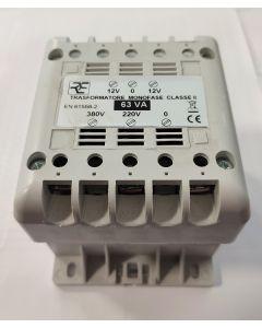 TRASFORMATORE DI ISOLAMENTO 12-24 VAC RED ELECTRONICS REL ED-63