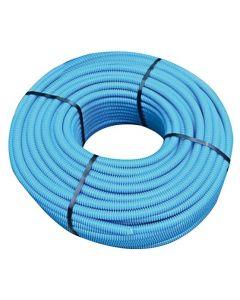 Tubo flessibile d.20 blu con sonda tirafilo